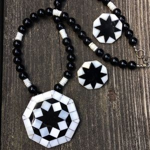 Vintage Karla Jordan necklace and earrings